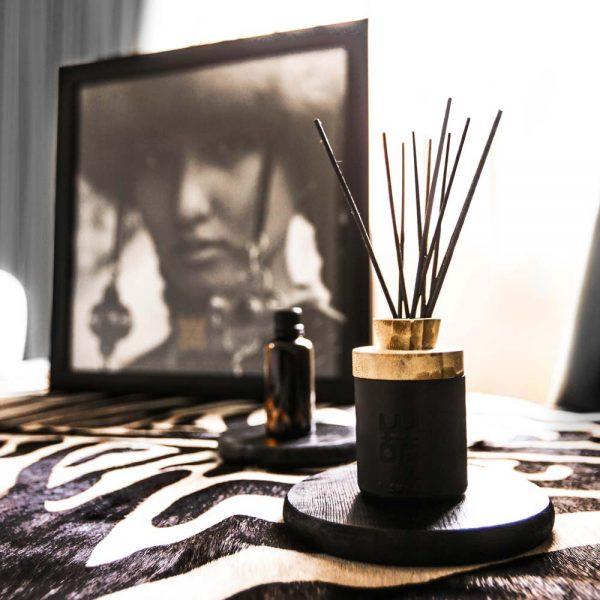 woo perfume diffuser black 50ml packaging