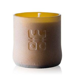 woo lucky candle matt brown small