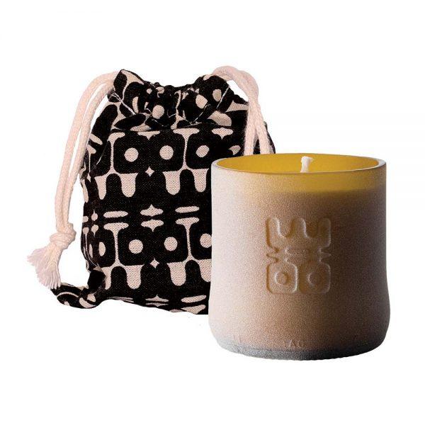 woo lucky candle matt brown small packaging