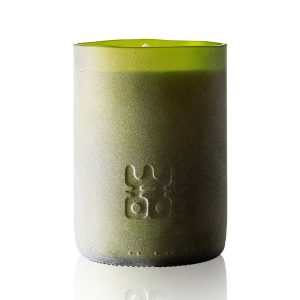 WOO lucky candle matt green extra large