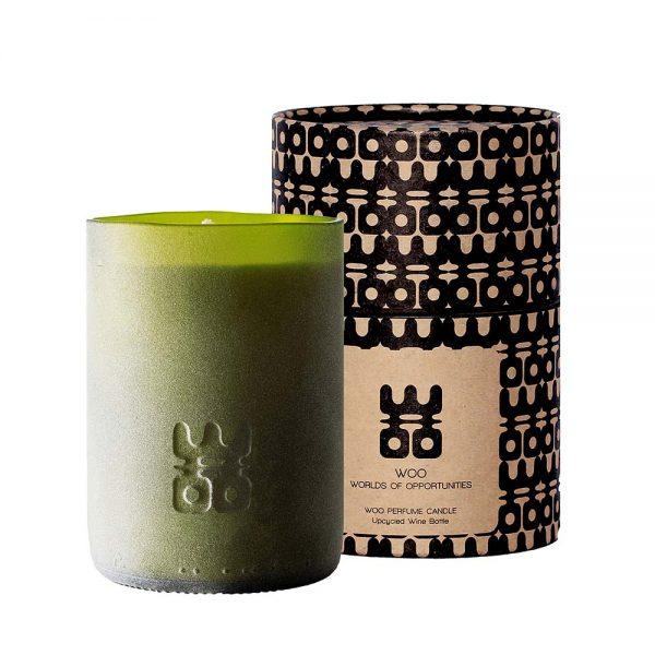 WOO lucky candle matt green extra large with box