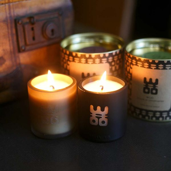 WOO lucky candle black small