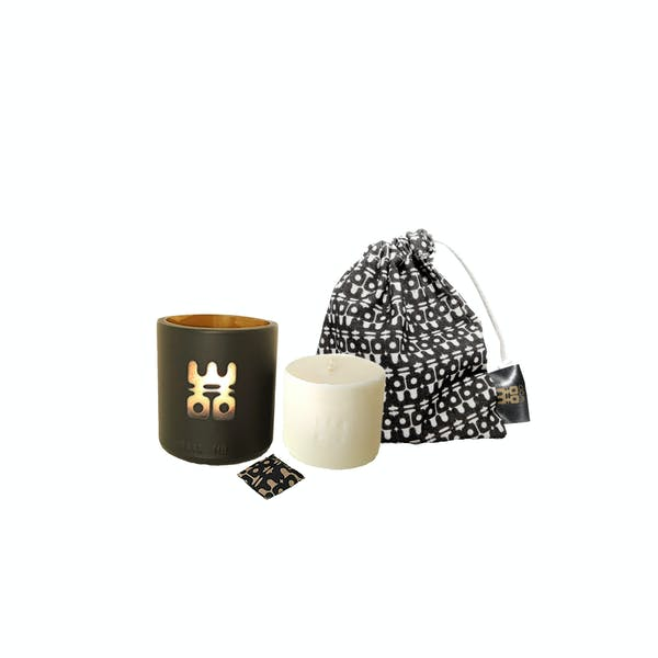 WOO lucky candle black small with bag